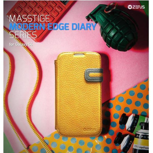 Zenus Masstige Modern Edge Diary till Samsung Galaxy S4 i9500 (G
