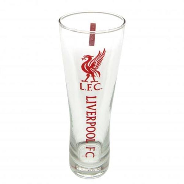 Liverpool Ölglas Högt Wordmark 4-pack