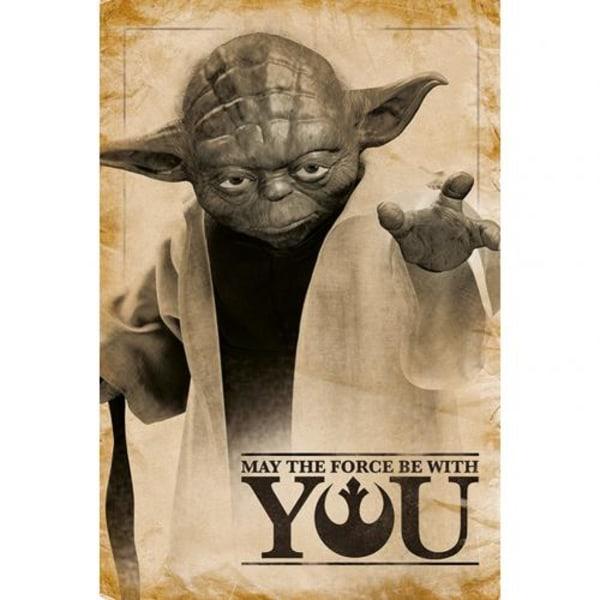Star Wars Affisch Yoda 251
