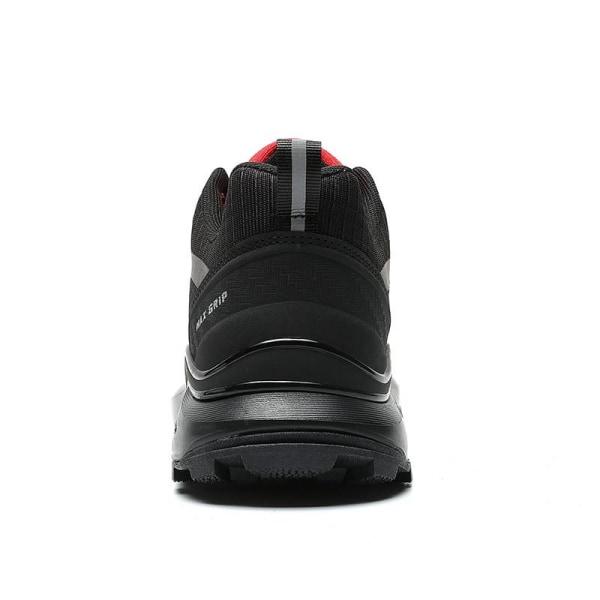 Nya golfskor, vattentäta golfskor, halkskydd BlackRed 7