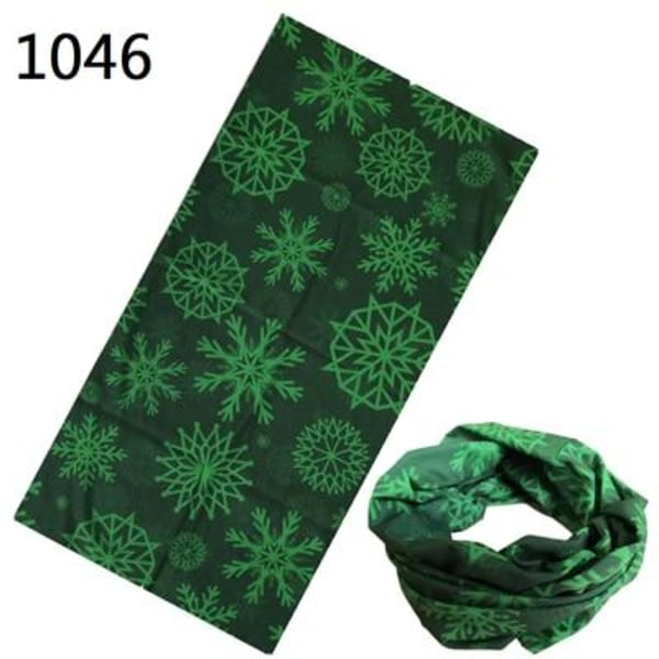 Mönster hijab bandana halsduk med sömlös halsformad form, 1046