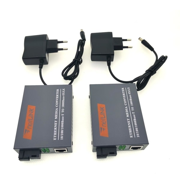 Htb-gs-03 gigabit fiber optisk mediekonverterare 10/100 /