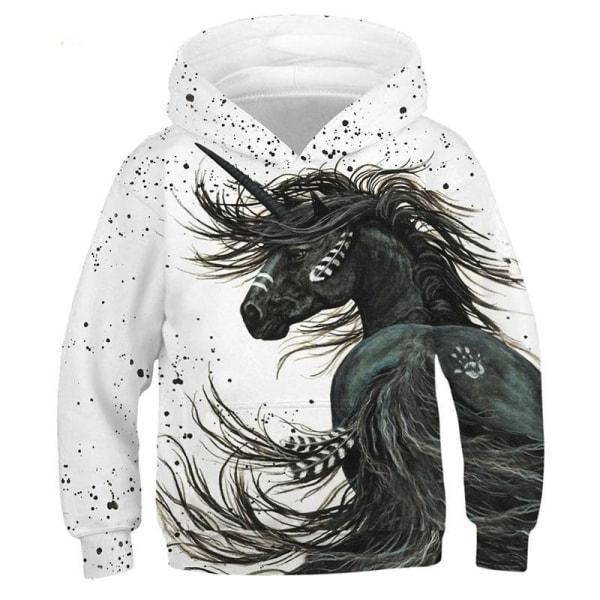 Unicorn hoodie barn 7T161