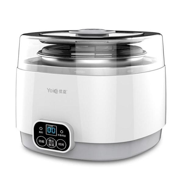 Automatisk multifunktionell liten ismaskin, yoghurtmaskiner EU