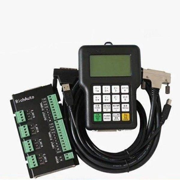 Richauto dsp, 3-axlig usb-kontroller fjärrkontroll för