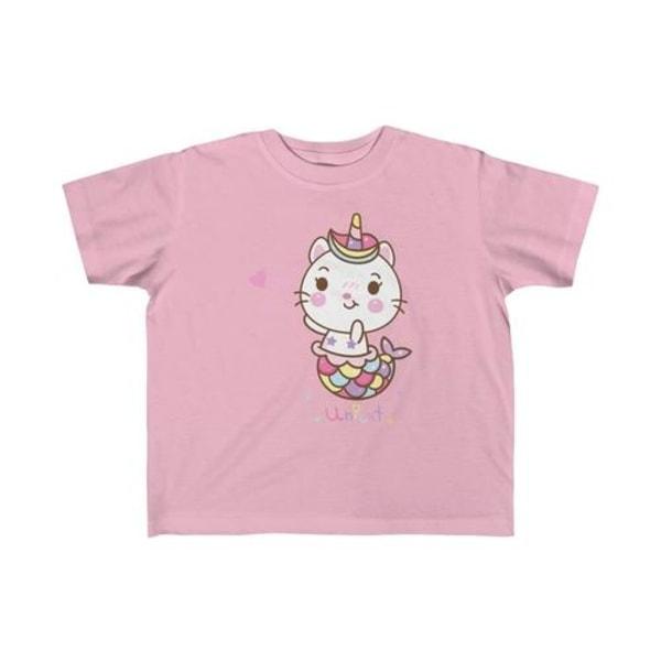 Unicat sjöjungfru unicorn kid tee Pink 5T-6T