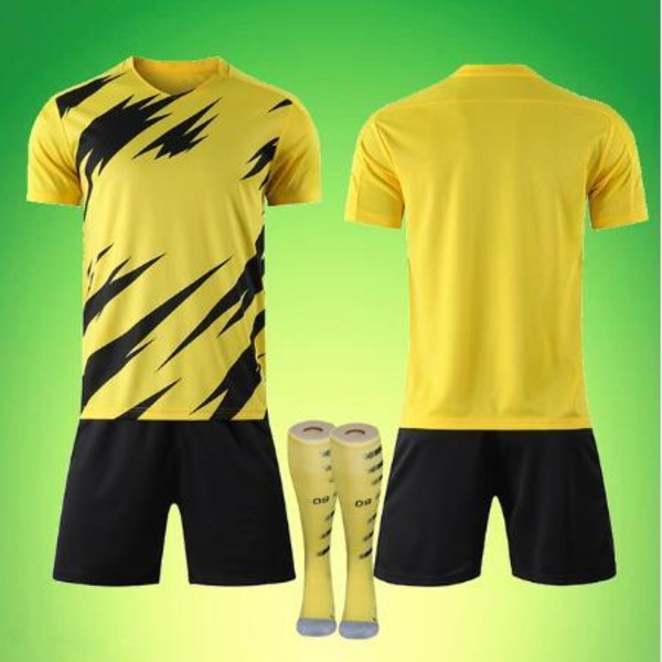 Manliga vuxna barn fotbollströja set, fotbollsmatch uniformer, SPhoto color-350850