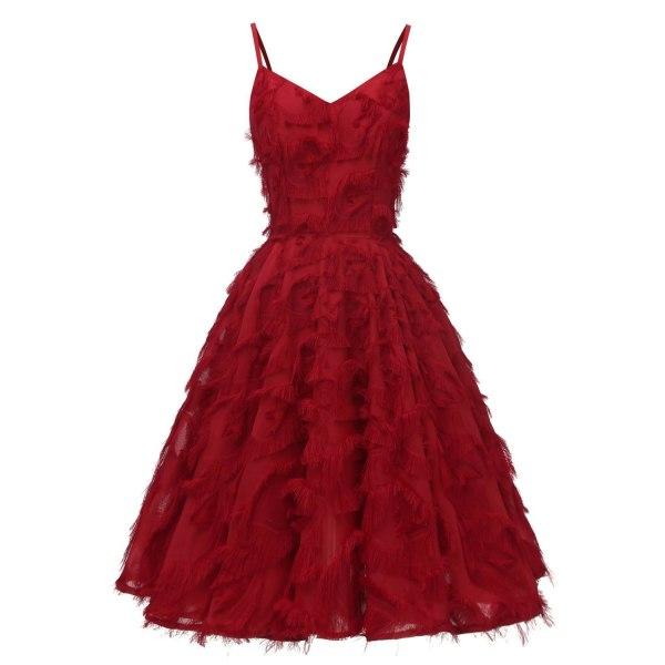 Eleganta cocktailklänningar Red 4China