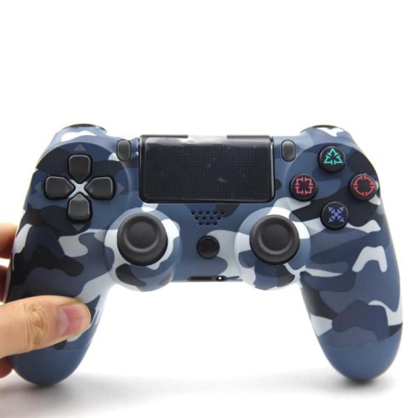 Trådlös gamepad för playstation dualshock Steel Black