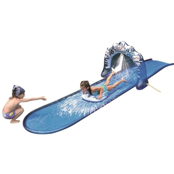 500x95cm hastighet blast vattenrutschbana ryttare med blue