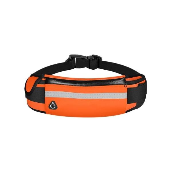 Män kör bälte väska Orange