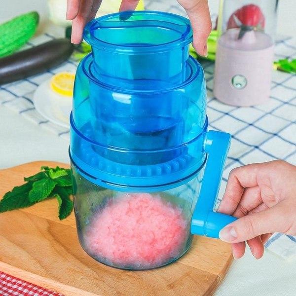 Bärbar handvev manuell iskross