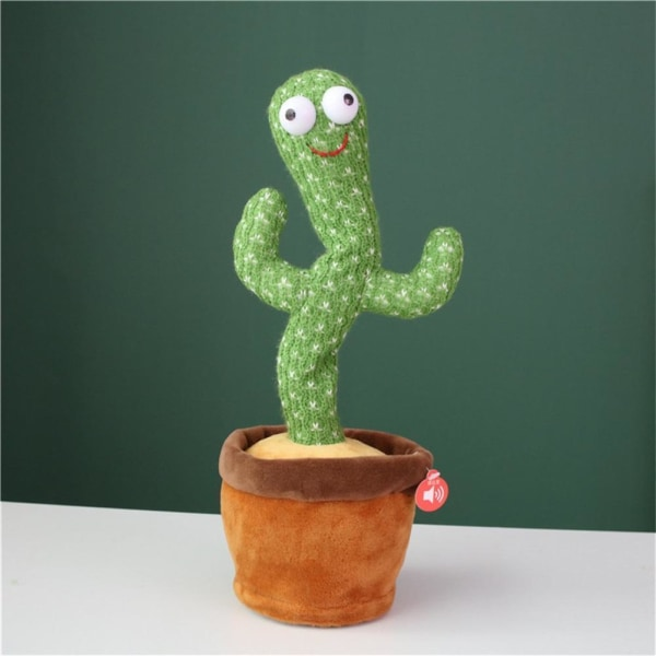 Dansande, pratande kaktusfyllda plyschleksaker style 2(See details)