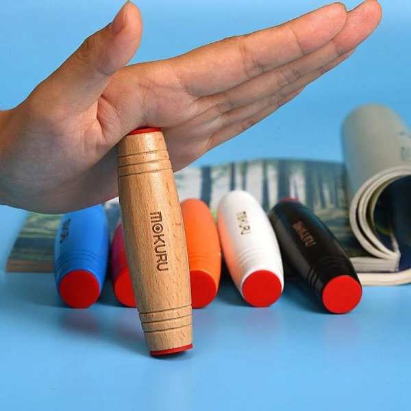 Trä fidget flipo flip desk kinetiska färdigheter Orignal