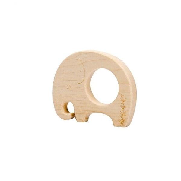 Träblock i nordisk stil Little elephant