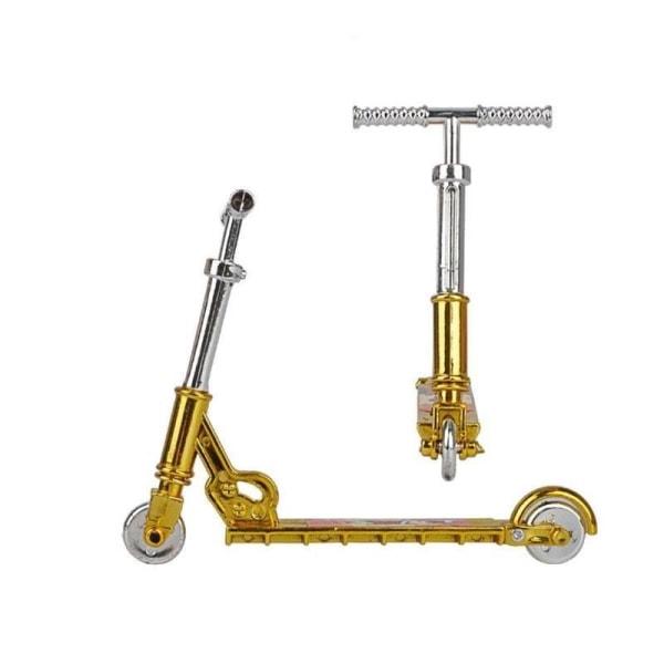 Plast miniscooter tvåhjulsscooters pedagogiska Silver gold