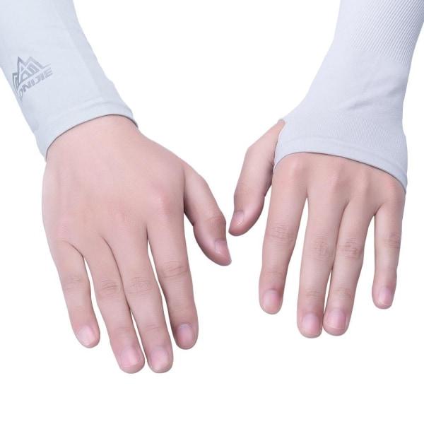 Armhylsa för ultimat UV-skydd No Thumb Hole Blue