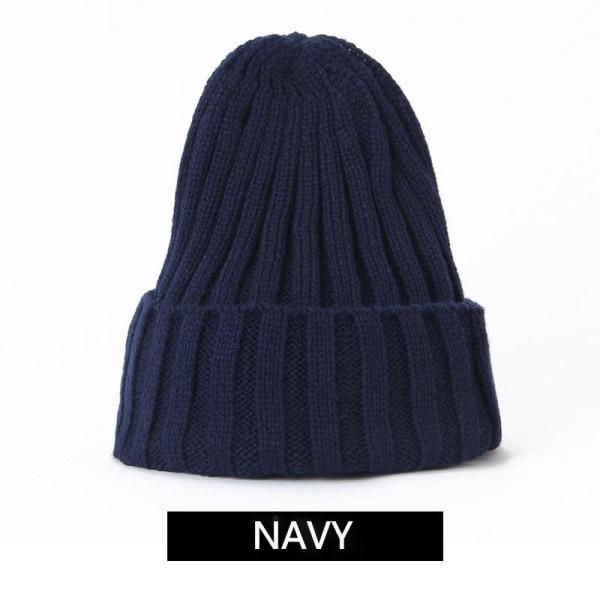 Vinter benaies kvinnor stickade hattar, tjockare hatt, mjuk, 5