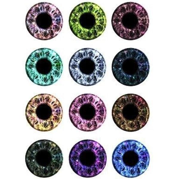 ögonbollar för dinosauriedjur 5AC105206 8mm