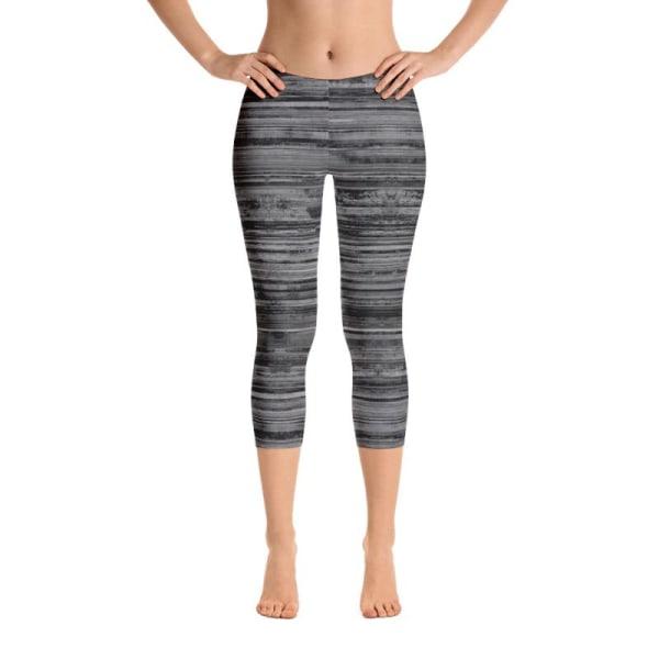 Heathered leggings, capris, shorts LHigh Waist Long