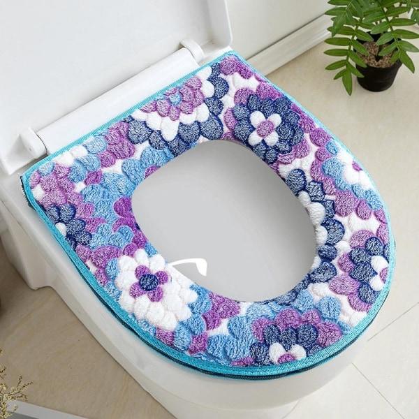Söt broderad toalettstol, tryckt toalettsitsmatta I