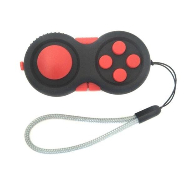 Fidget controller pad kub spel fokus leksak Red