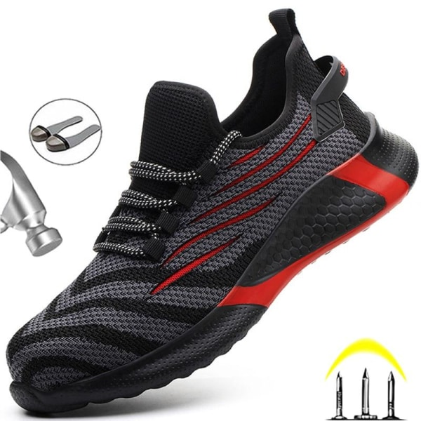 Anti-punktering arbetande sneakers (set 1) FZ55-pink 41