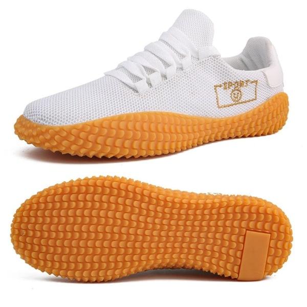 Anti slip golf sport sneakers White 8.5