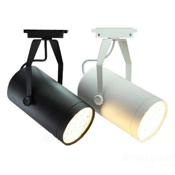 Ledde spårlampor för köpcentrum White