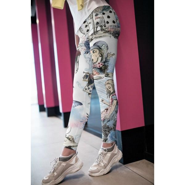 Underlands leggings, capris och shorts 3XLHigh Waist Long
