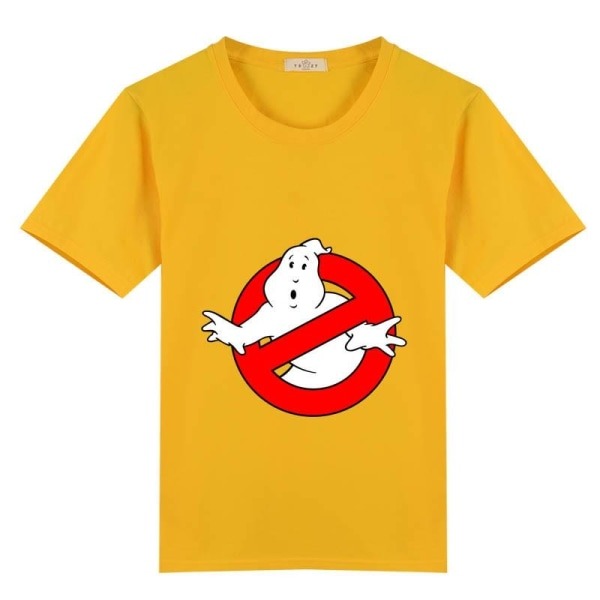 Bomull barn ghostbusters film busters t-shirt (set-2) yellow 9T