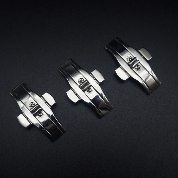 Dubbel rostfritt stål metall tryckknapp 6x19mm