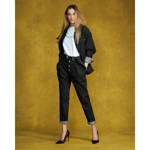 Designer jeans lätt M176Black
