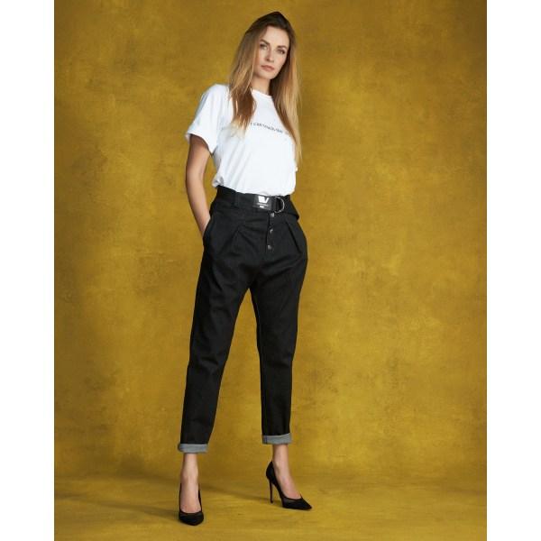 Designer jeans lätt XS168Black