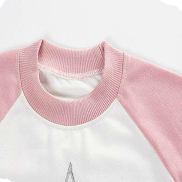 Vinter vårtröja, baby varma ytterkläder barn casual tröjor Silver 24M