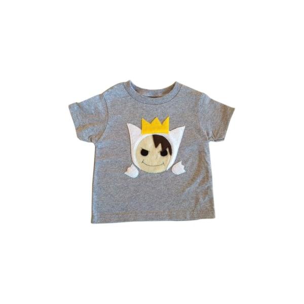 Vild pojke - barn-t-shirt 18mT
