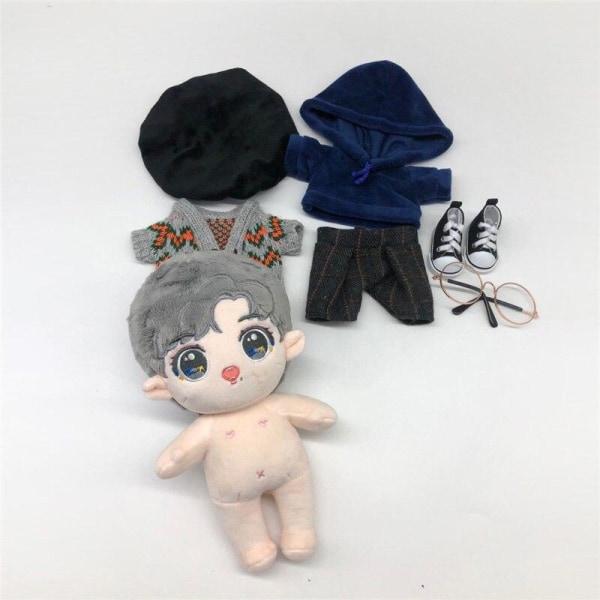 Dockleksak med bomullskläder doll and clothes 1
