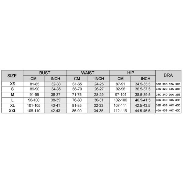 Solid svart rufsad hel baddräkt (set 2) 321-140024B LChina