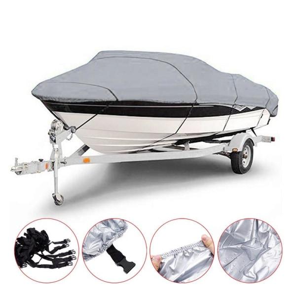 Förstärkt vattentätt båtskydd med justerbart spännband 14-16FT