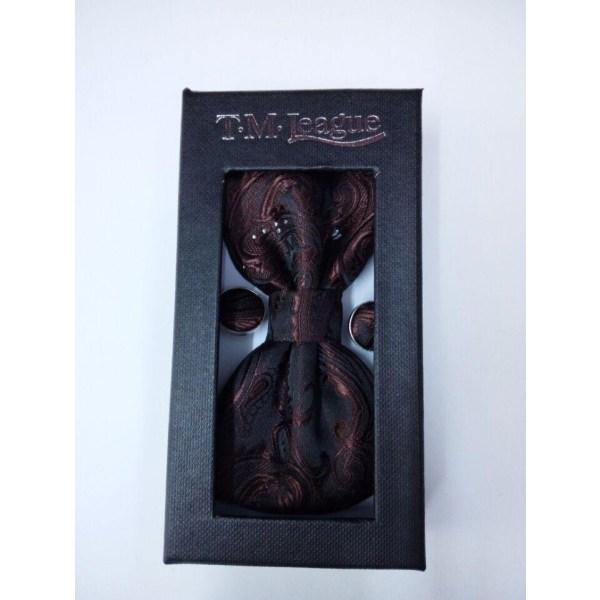 Gravata borboleta silkesgåvor för män bowtie pocket kvadrat NO BOX purple
