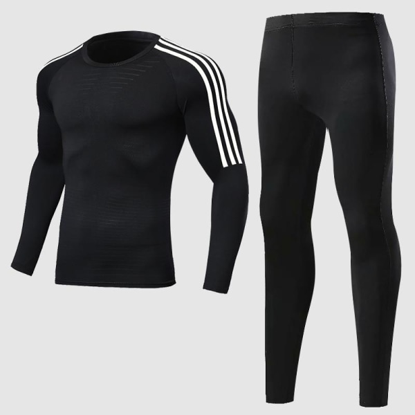 Herrträningsdräkt för män, gym / jogging / löpande tighta M269-1006