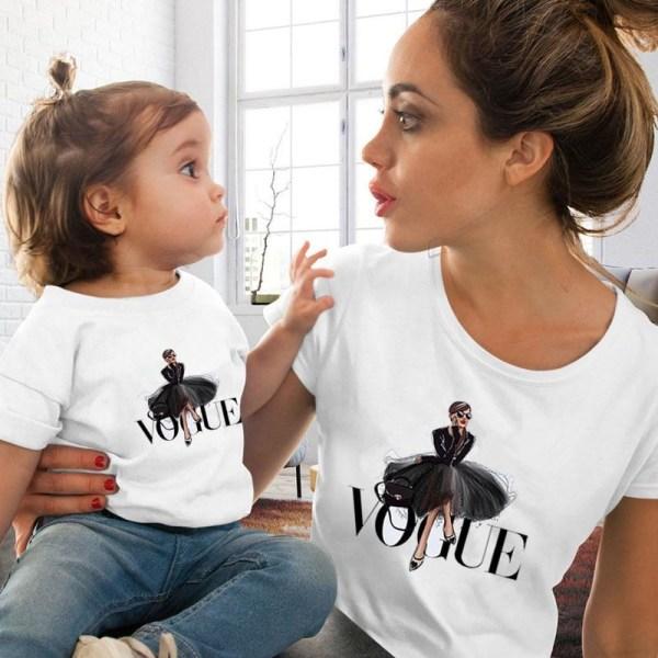 Mamma dotter matchar söta tshirts Kids Tshirt-10-11T