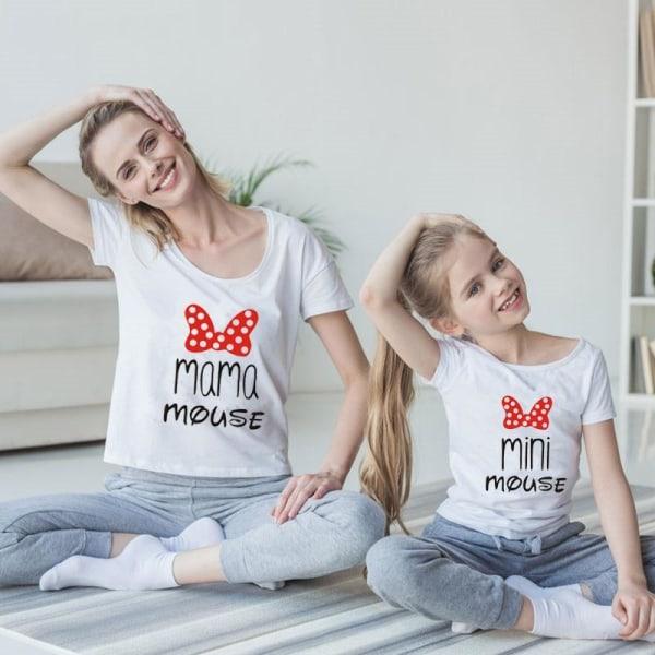 Mamma dotter matchar söta tshirts Kids Tshirt-6-8T