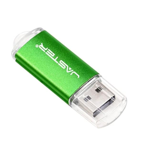 Mini usb flash pendrive metallminne, kortsticka Orange 16GB