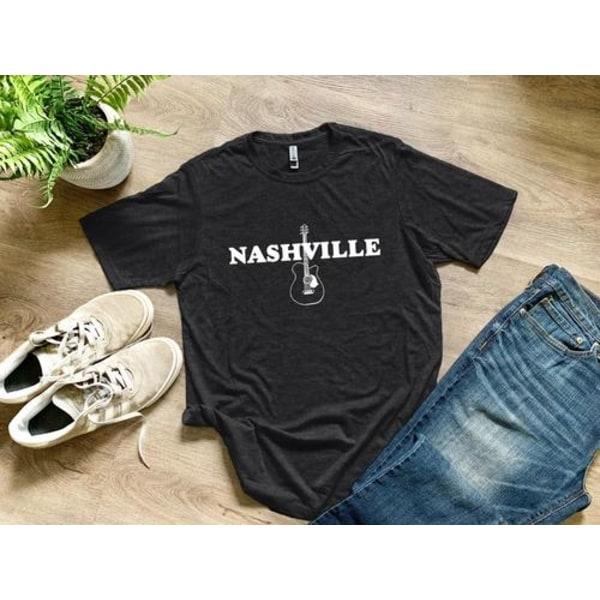 Nashville t-shirt Charcoal XLMens Tee