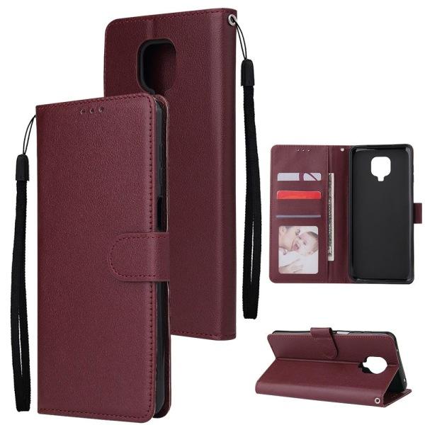 Typ 1 / set läder flip plånbok telefon fodral, omslag Winered For Redmi 7A