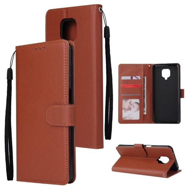 Typ-4 / set läder flip plånbok telefon fodral, omslag Brown For Redmi 4X