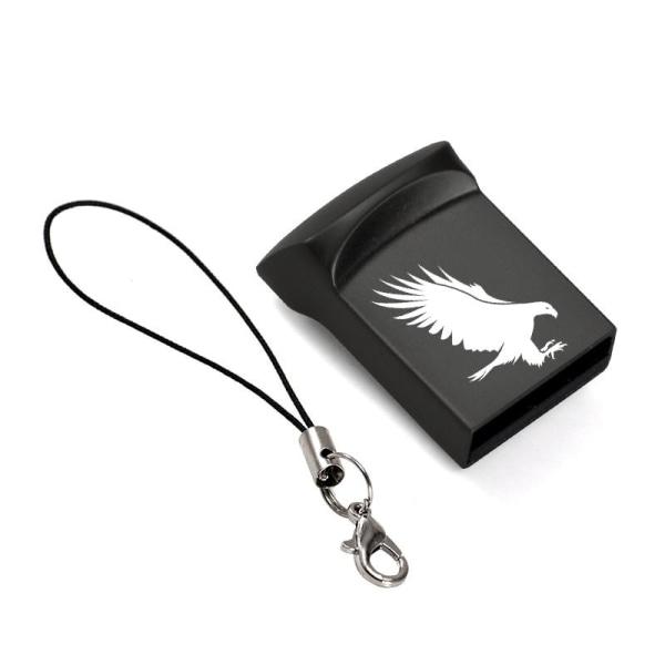 USB-flash-pendrive, mini-minne Silver Eagle Logo 4GB
