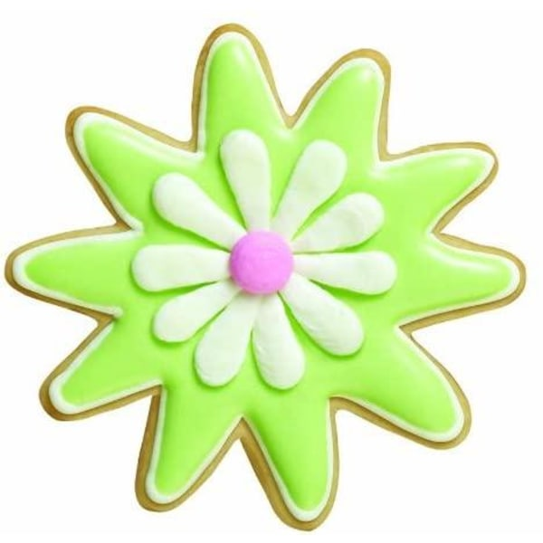 Utstickare Blommor 7-pack Kakmått - Wilton flerfärgad