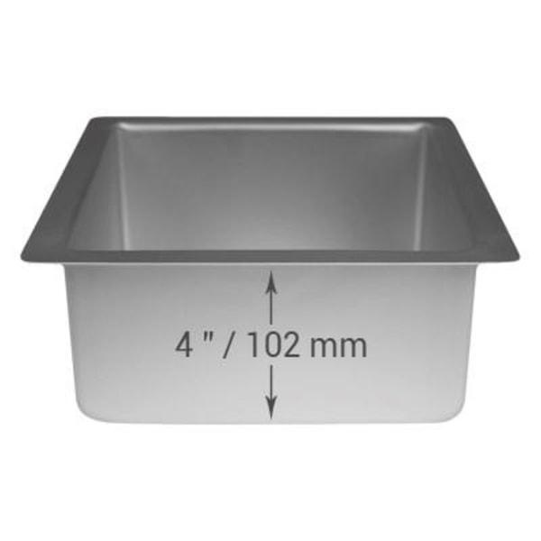 PME Fyrkantig Kvadratisk Bakform Kakform 178 x 178 x 102mm silver